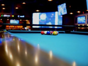 Indianapolis Pool Table Movers showing a pool table