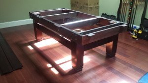 Correctly performing pool table installations, Indianapolis Indiana