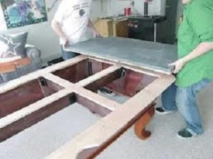 How much does it cost to move a pool table?