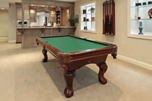 A billiard set up Pool Table Moves Indianapolis Pool Table Movers