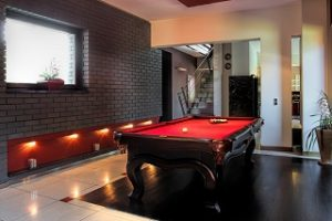 Pool table room sizes image